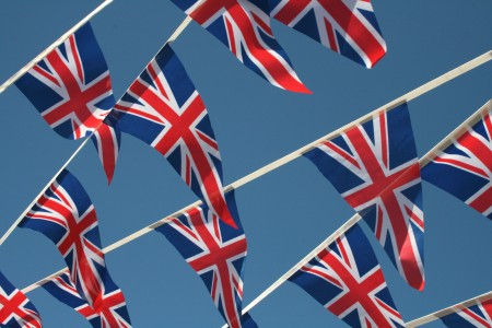 Triangular Union Bunting