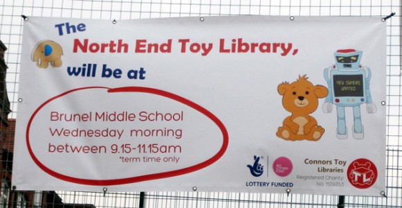 Connors Toy Library banner